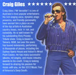 Craig Giles Elvis Tribute